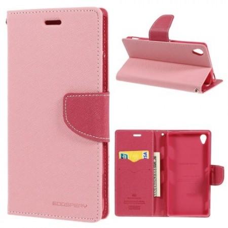 Lommebok Etui for Sony Xperia Z3 Mercury Lys Rosa