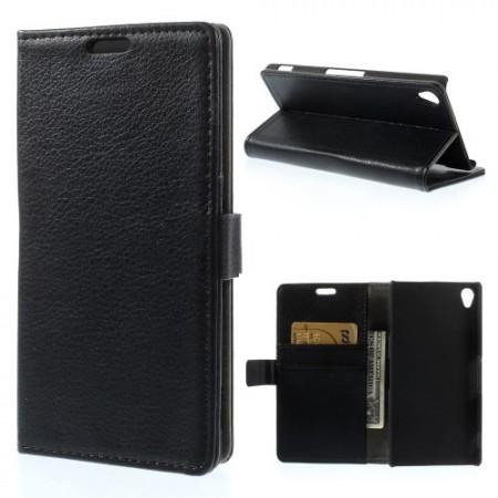 Lommebok Etui for Sony Xperia Z3 Classic Svart