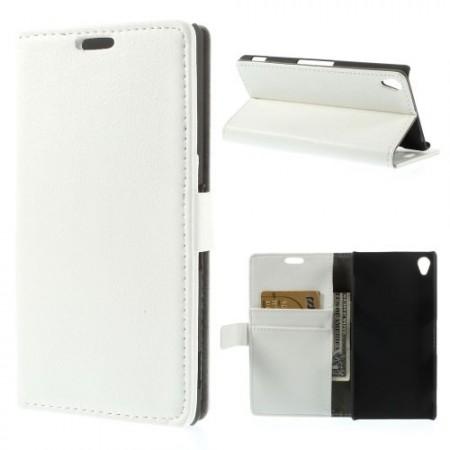 Lommebok Etui for Sony Xperia Z3 Classic Hvit