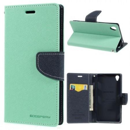 Lommebok Etui for Sony Xperia Z3 Mercury Mint Gr�nn