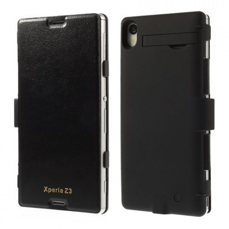 Batteri Etui for Sony Xperia Z3  Svart