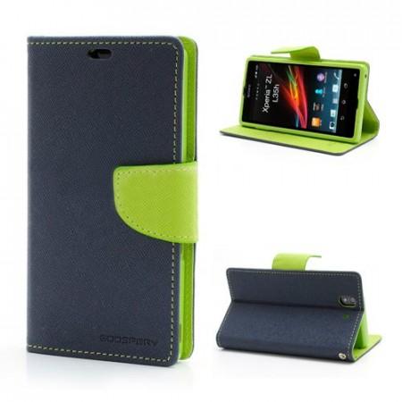 Lommebok for Sony Xperia Z Mercury M�rk Bl�
