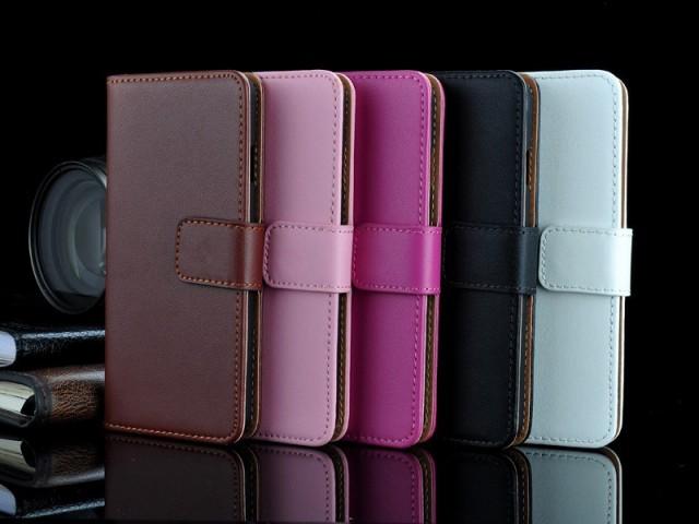 Lommebok Etui For Iphone 6 Pluss Genuine Etuier Deksler