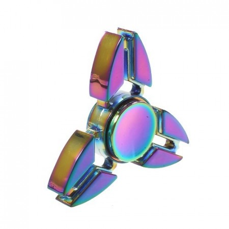 Fidget Spinner Collector Tri-Ninja Rainbow Alu