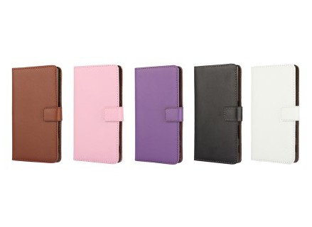 Lommebok Etui for Xperia Z5 Compact Genuine